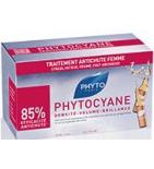 PHYTOCYANE - Traitement anti-chute Cheveux Redensifiant - 12 ampoules
