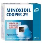 MINOXIDIL - 2% - Chute de Cheveux Modérée 60 ml - 3 flacons