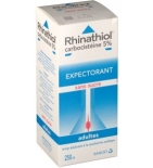 Rhinathiol Sirop Toux Grasse Adultes - 250 ml