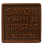 Savon de Marseille Surgras Vanille des Îles - 100 g