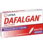 Dafalgan 600 mg  - Boîte de 10 suppositoires