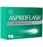 ASPROFLASH - Anti-Douleurs légères et Fièvre - 20 comprimés de 500 mg