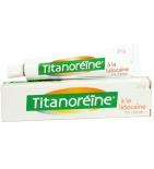 Crème Titanoreïne à la lidocaïne 2% - 20 g