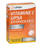 Vitamine C UPSA 1000 mg - 2 x 10 comprimés effervescents