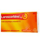 Comprimés Effervescents Laroscorbine sans Sucre 1 g - 30 comprimés