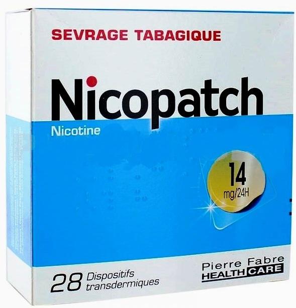 prix nicopatch 14 mg boite de 28