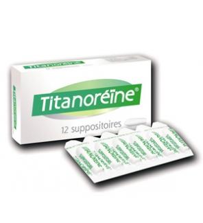 JOHNSON & JOHNSON - Suppositoires Titanoreïne
