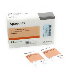 Spagulax Mucilage pur sachets-doses - 20 sachets