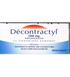 Decontractyl 500 mg - 24 comprimés