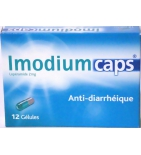 Imodiumcaps 2 mg - 12 gélules
