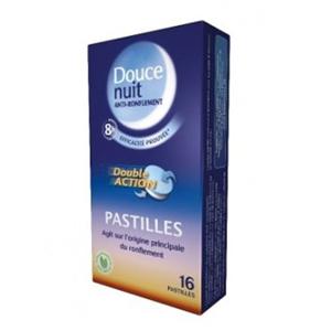 Prix de douce nuit anti ronflement 16 pastilles - Douce nuit anti ronflement ...