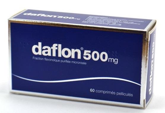 Daflon 500 mg - 60 comprimés (SERVIER)