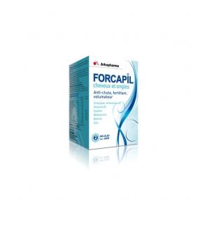 FORCAPIL - cheveux et ongles - 60 gélules