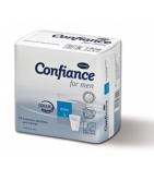 CONFIANCE MEN - Protections absorbantes pour faiblesse urinaire masculine -14 unités