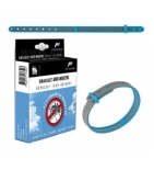 Bracelet Anti-Insectes Bleu-Gris
