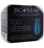 BGStar Lancettes - 100 lancettes 28G