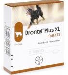 Drontal Vermifuge Plus XL Chiens - 2 Comprimés