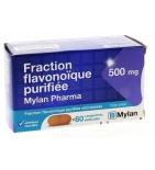 Fraction Flavonoique Purifiée 500 mg - 60 comprimés