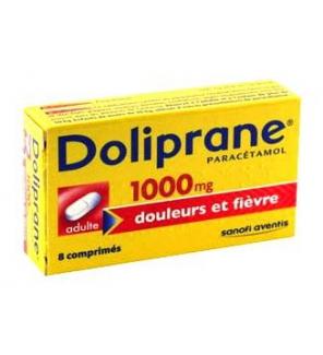 sanofi doliprane 1000 mg parac233tamol comprim233s