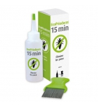 Ecoprioderm Lotion anti-Poux 100 ml + Peigne offert