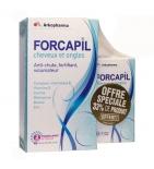 FORCAPIL - Cheveux et Ongles - 180 gélules + 60 gélules Offertes