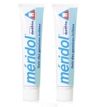 Meridol Dentifrice Gencives Fragiles et Irritées - Lot de 2 x 75 ml