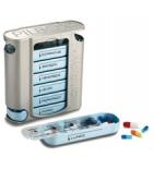Pilbox 7 - Pilulier hebdomadaire - 4 cases par jour