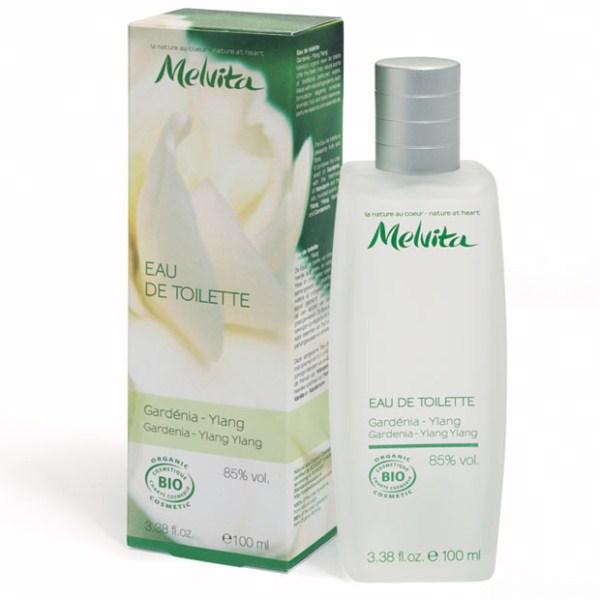 Prix de MELVITA Eau de Toilette Bio 'Gardénia Ylang' - 100 ml