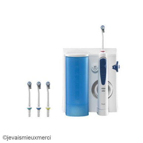 oral b oral b hydropulseur professional care oxyjet md20. Black Bedroom Furniture Sets. Home Design Ideas