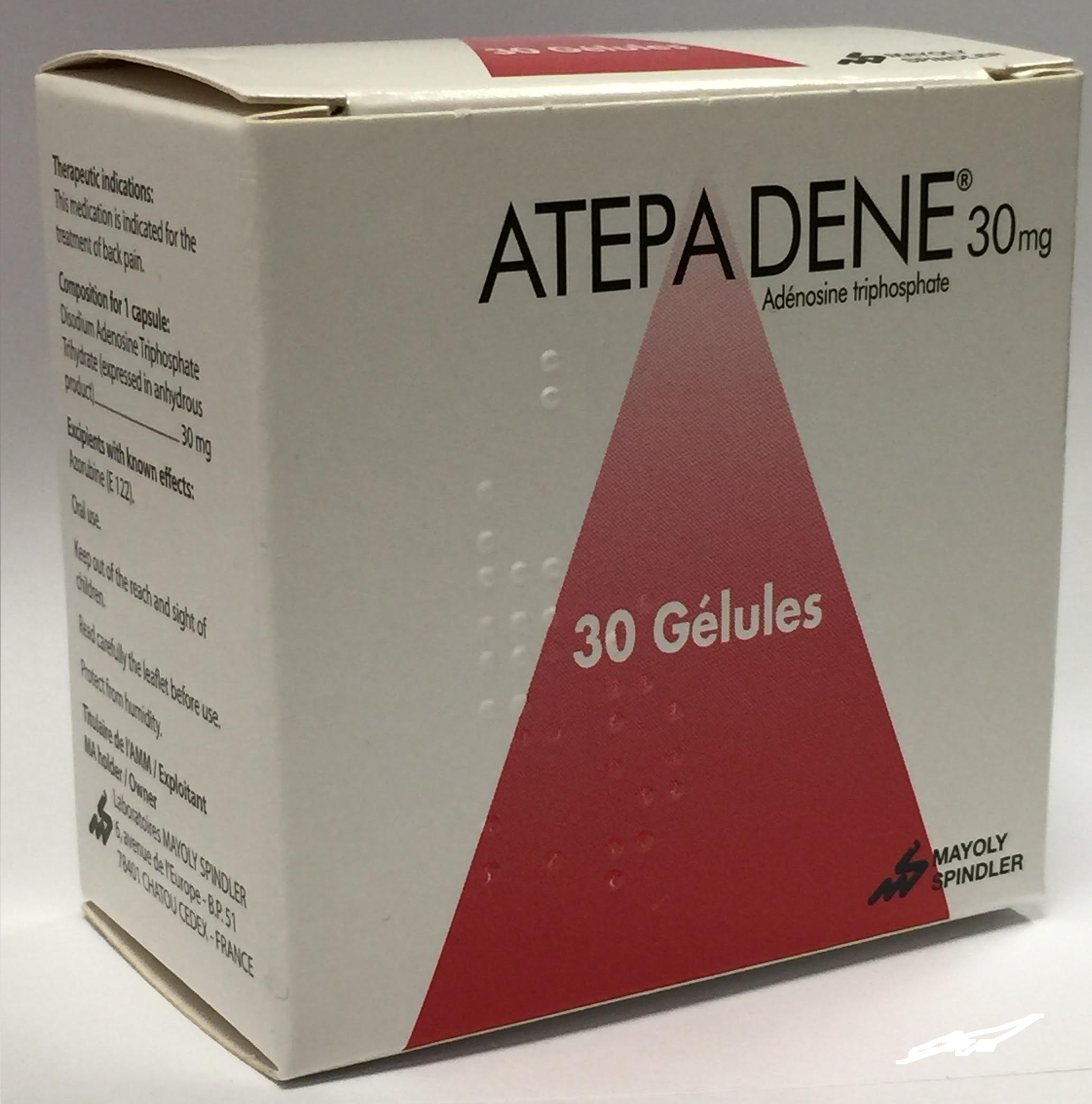 Atepadene 30 mg - Mayoly Spindler