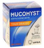 Mucomyst Toux Grasse 200 mg - 18 sachets