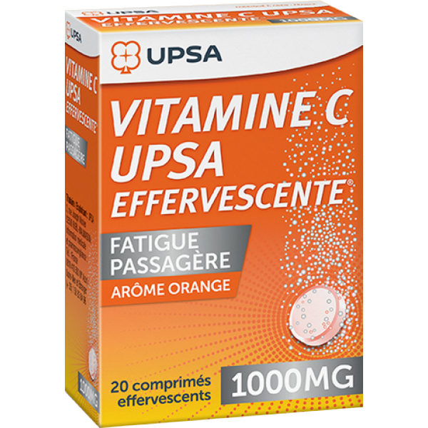 Prix de VITAMINE C UPSA EFFERVESCENTE 1000mg